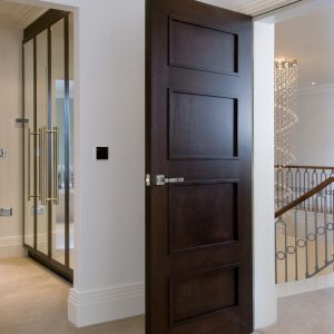 Door Type: Windsor4A Finish: Dark Walnut