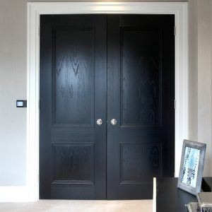 Door Type: Blenheim2BD Finish: Ebony Ash