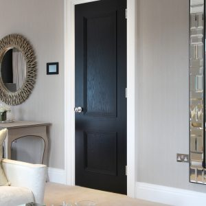 Door Type: Blenheim2B Finish: Ebony Ash