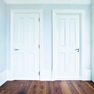 Door Type: Chatsworth4A Finish: Pure White painted