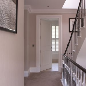 Door Type: Blenheim2A Finish: Pure White painted